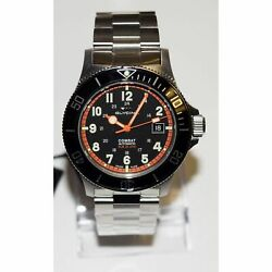Kyпить Glycine 3908.19AT.N.MB Men's Combat Sub Black Automatic Watch на еВаy.соm