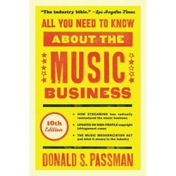 All You Need to Know About the Music Business 10th Edition Book NEW 000325359