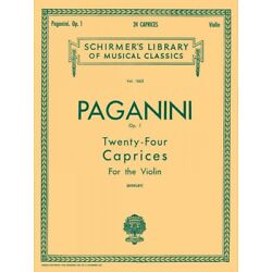 Kyпить Paganini 24 Caprices Op 1 Schirmer Violin Solo Sheet Music Book NEW 050260840 на еВаy.соm