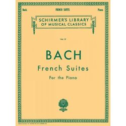 Kyпить Bach French Suites Schirmer Piano Solo Sheet Music Book NEW 050252090 на еВаy.соm