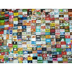 Kyпить Gift Card - LOT of 320 Cards - No Value - Each Pictured & Each Different на еВаy.соm