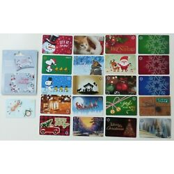 Kyпить Walmart Gift Card Christmas 2020 - LOT of 22 Diff - No Value - Snoopy, Dog, Cat+ на еВаy.соm