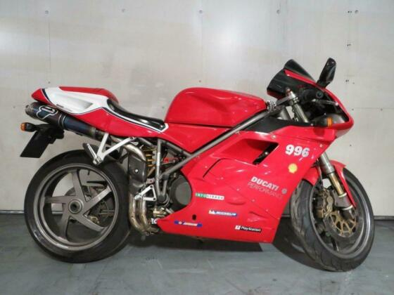 2000 DUCATI 996 BIPOSTO RED NATIONWIDE DELIVERY AVAILABLE