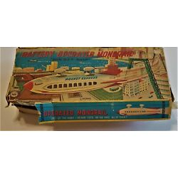 Kyпить  Line Mar  Monorail Rocket ship  Battery Operated Excellent Condition на еВаy.соm