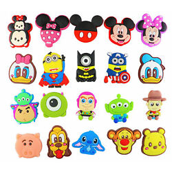 Kyпить 20 pcs Cartoon Shoe Charms for Croc & Bracelet & shoes Wristband Kids Party на еВаy.соm
