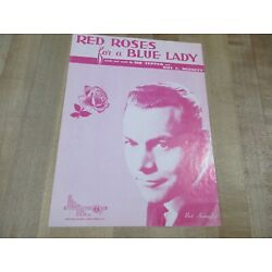 Kyпить Red Roses for a Blue Lady 1948 Sheet Music  (b)  на еВаy.соm
