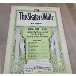 Kyпить The Skaters Waltz Waldteufel no 3191 1938   Sheet Music  (b)  на еВаy.соm