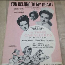 Kyпить You Belong to My Heart  1943   Sheet Music  (b)  на еВаy.соm