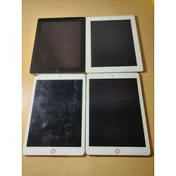Kyпить BULK LOT of 4 iPad 2 and iPad Air 2 FOR PARTS ONLY FMI  на еВаy.соm