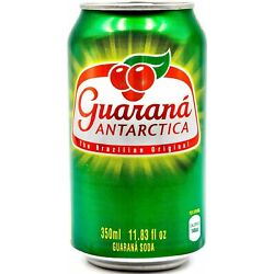 Guaraná Antarctica, Guaraná Flavoured Soft Drink, Made From Amazon Rainforest...