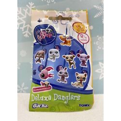 Authentic Littlest Pet Shop New Sealed Package Wave 4 Dangler Key Chain