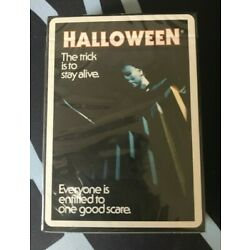 Fontaine Halloween Michael Myers Playing Cards - NEW SEALED SOLD OUT