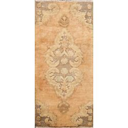 Kyпить Muted Semi-Antique Hand-knotted Oushak Turkish Distressed Oriental Area Rug 2x3 на еВаy.соm