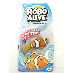 Kyпить ZURU Robo Alive Water Activated CLOWNFISH Real-Life Robotic Pets! Fun For All B1 на еВаy.соm