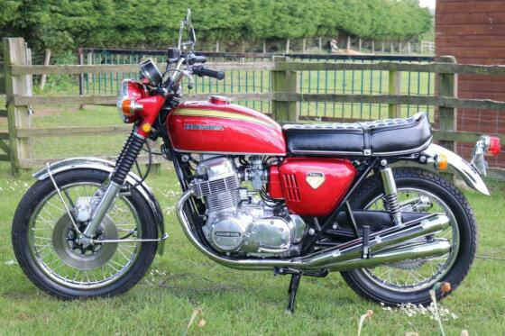 Honda CB750 CB 750 K0 1969 Staggering condition and just 3,362 miles from new!