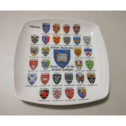 Kyпить Oxford University - Coats of Arms crests on small Pavco melamine souvenir dish на еВаy.соm