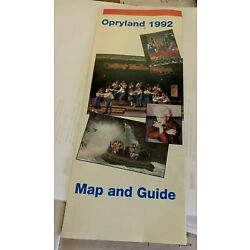 Kyпить Opryland 1992 Map and Guide на еВаy.соm