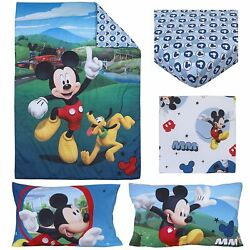Kyпить Disney 4 Piece Toddler Bedding Set Mickey Mouse Playhouse на еВаy.соm