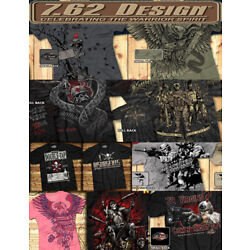 Mens 7.62 design screen printed shirt - Choose an available design and size
