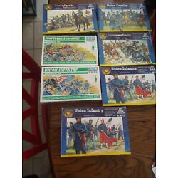 Kyпить Ertl, Italeri 1/72 ACW Union soldiers,confederate  soldiers not complete, in box на еВаy.соm