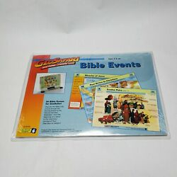 GeoSafari Bible Events Christian Educational Learning Game System Card Set
