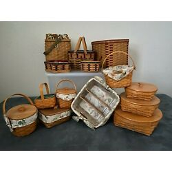 Longaberger Baskets RETIRED - So many... hard to choose! Round Two!
