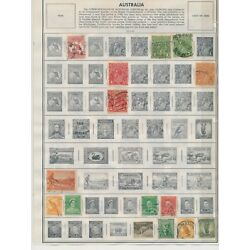 Kyпить AUSTRALIA: 308 STAMPS ON HARRIS ALBUM PAGES • NEAT AND CLEAN COLLECTION на еВаy.соm