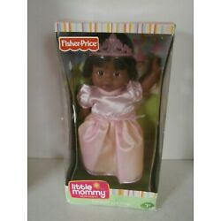 RARE 2009 Fisher Price African American Little Mommy Sweet As Me Princess Doll
