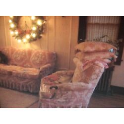 Kyпить Barkcloth Couch And Chair Cover Pink на еВаy.соm