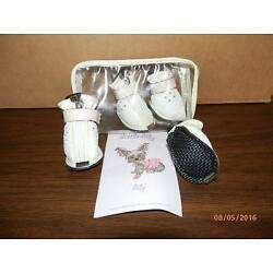 Dog Boots / Booties / Shoes - Little Lily - White - Size 3 - BRAND NEW