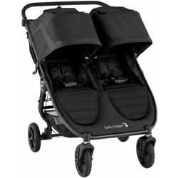 Baby Jogger City Mini GT2 Twin Baby Double Stroller Jet NEW In Box 2020