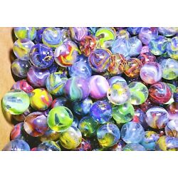50 D.A.S. WILDFLOWERS Mint - to Near Mint Marbles Flawed but Beautiful Crystals