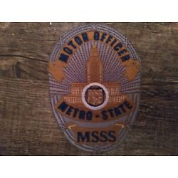 !NEW! Metro-State Shirt Motor Unit (Police Motorcycle) LAPD, NYPD, CHP, FHP.