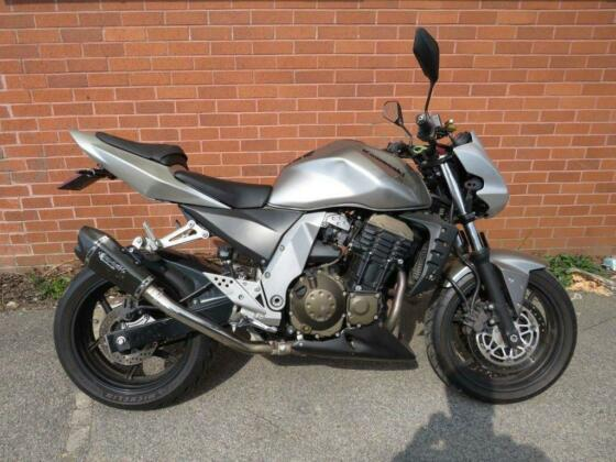 2007 KAWASAKI Z750 Z 750 SILVER NATIONWIDE DELIVERY AVAILABLE