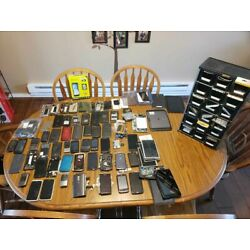 Lot of 75+ Cell Phones Tablets Galaxy Note 2,3,4,5 and S4, S5, S6, S7 and More!