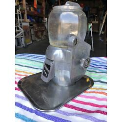 Atlas Manufacturing Gumball/Peanut/Candy Machine 5 Cent Working Usable Condition