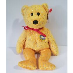 Ty Beanie Baby - Decade (Gold Version) (2003) - With Tags