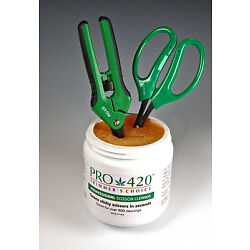 PRO 420 Sticky Scissor Solution-Bud Trimming Tool Cleaner-Scissors NOT INCLUDED