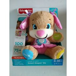 Fisher-Price FDF22 Laugh & Learn Smart Stages Sis Toy New and Tested