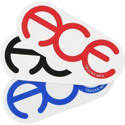 ACE RINGS 3'' STICKER ASSORTED (2pack)