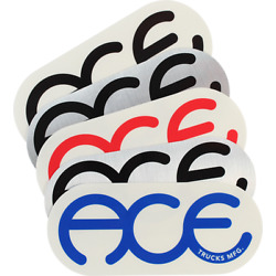 ACE RINGS 6'' STICKER ASSORTED STICKER (2 pack)