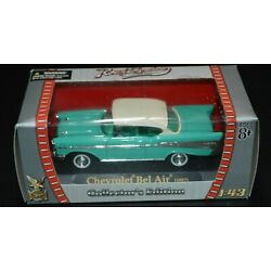 Road Signature Collection Chevrolet Bel Air 1957 Collector's Edition New In Box