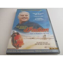 The World's Fastest Indian, 2005('06). PG-13. Sports/Drama. Anthony Hopkins. NEW