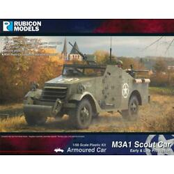 Rubicon Models: 280083 - US M3A1 Scout Car (Early & Late Production) Bolt Action