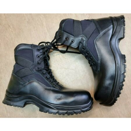 img-NEW Goliath YDS British Army Issue Black Steel Toe Cap Tactical Boots Size 13 UK