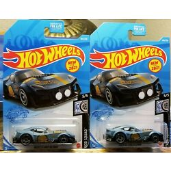 Hot Wheels 2021 ROD SQUAD Muscle And Blown Blue  5/5 184/250