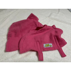 Snuggie For Dogs Fleece Blanket Coat NEW Small Hot Pink AS SEEN ON TV!