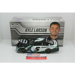 2021 KYLE LARSON Autographed #5 NationsGuard 1:24 216 Made In Stock Free Ship