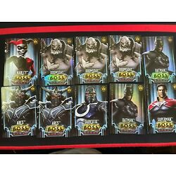 Injustice Gods Among Us Arcade Game Boss And Platinum Card