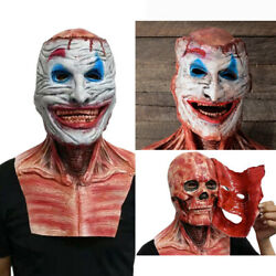 Ghost Rider Double-layer Ripped Skull Joker Mask Halloween Cosplay Scary Masks
